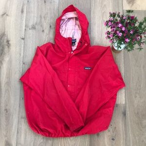 Patagonia Shell Windbreaker Large Red